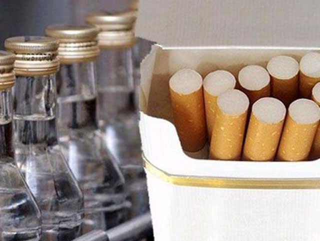 Верховная Рада постепенно собирается увеличить акцизы на табак и алкоголь