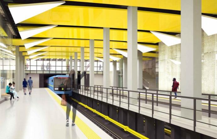 Три компании изъявили желание строить в Киеве метро на Виноградарь