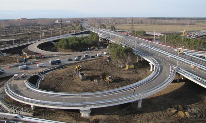 Семь компаний изъявили желание строить двухуровневые развязки на трассах Киев-Одесса и Киев-Чоп