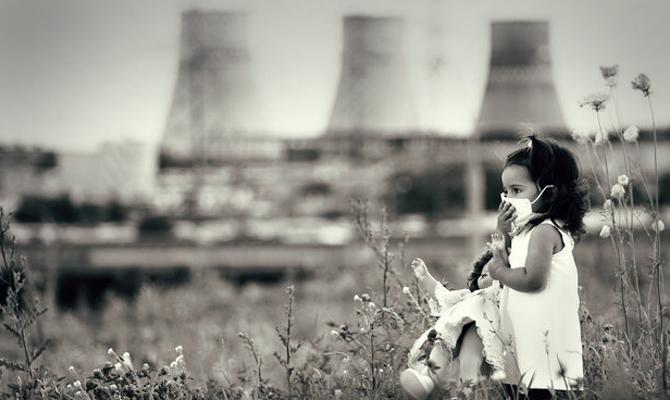 Украина оказалась в мировом ТОПе по смертности от загрязнения окружающей среды