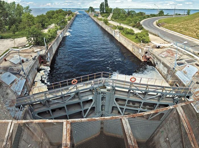 Кабмин в следующем году предлагает выделить на ремонт шлюзов 39 млн гривен