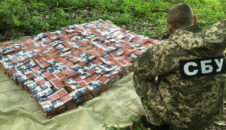 СБУ заблокировала нелегальный сбыт алкоголя и сигарет в районе ООС