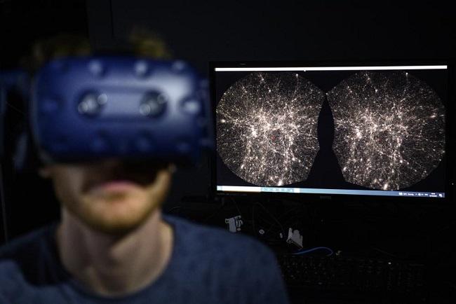 Ученые разработали программу для виртуальных космических путешествий