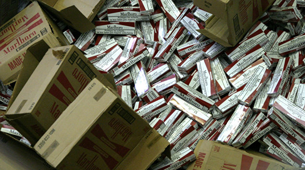 СБУ изъяла контрабандных сигарет на 50 млн грн