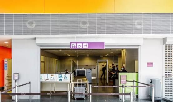 В аэропорту Борисполь заработал отдельный коридор контроля для пассажиров с детьми