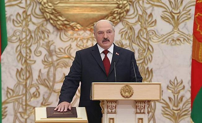 В Минске тайно прошла инаугурация Лукашенко