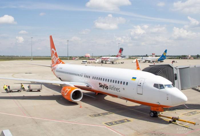 SkyUp в августе перевезла свыше 186 тысяч пассажиров