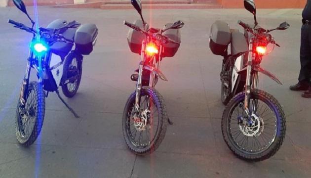 Полиция Мексики получила электробайки украинского стартапа (ФОТО)
