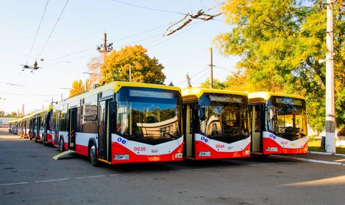 В 2020 году города Украины приобрели свыше 300 троллейбусов