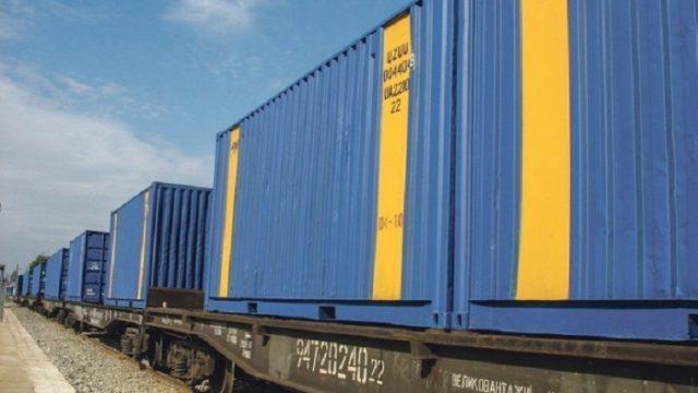 УЗ вдвое нарастила объемы контейнерных перевозок