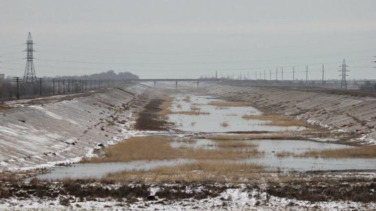 В Раду внесли проект заявления о попытках подачи воды в Крым
