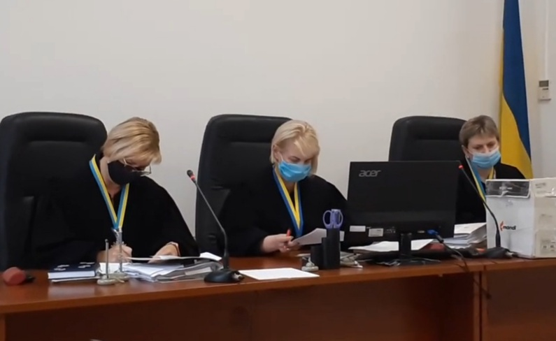 Поведінка судді Чернігівського апеляційного суду Ірини Бобрової вказує на заангажованість на бік Олега Авер'янова (ВІДЕО)