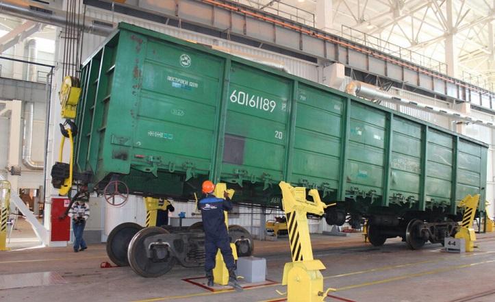 УЗ в I квартале нарастила ремонт грузовых вагонов