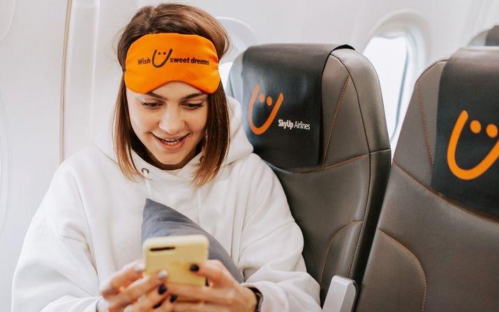 SkyUp предлагает лежачие места на рейсах Киев-Дубай