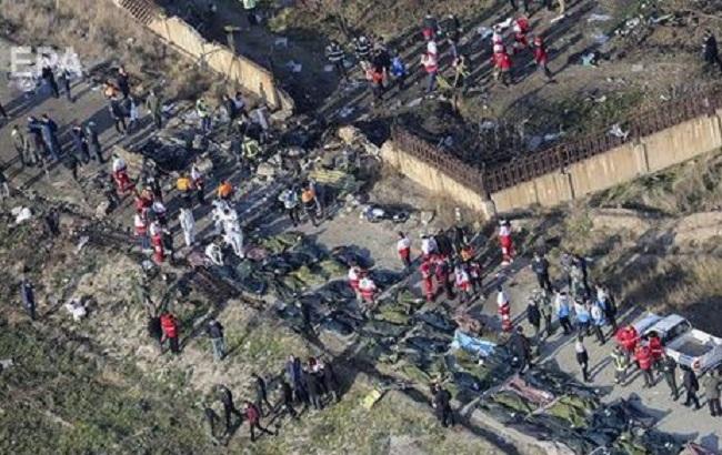 Офис генпрокурора открыл уголовное производство по авиакатастрофе в Иране