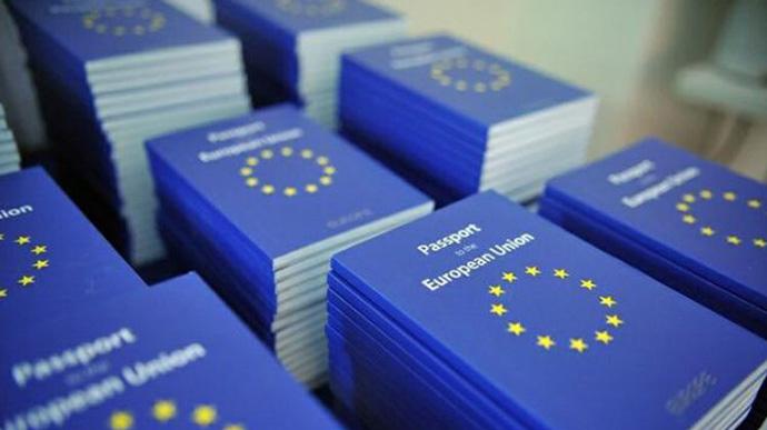 Украинцы на третьем месте по количеству видов на жительство в ЕС
