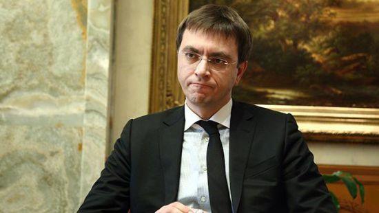 Омелян за прошлый год задекларировал миллион гривен доходов