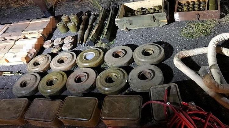СБУ с начала года из тайников боевиков изъяла почти 100 тыс. боеприпасов