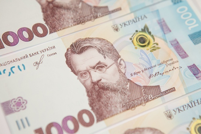 На каждого украинца приходится 70 банкнот и 153 монет – НБУ