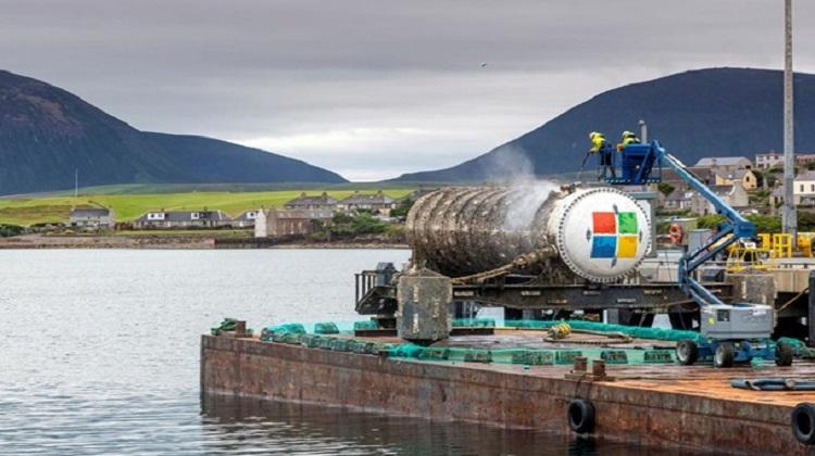 Microsoft будет хранить свои серверы под водой (ВИДЕО)