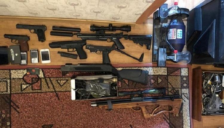 На Одесчине раскрыли схему продажи огнестрельного оружия через интернет (ВИДЕО)