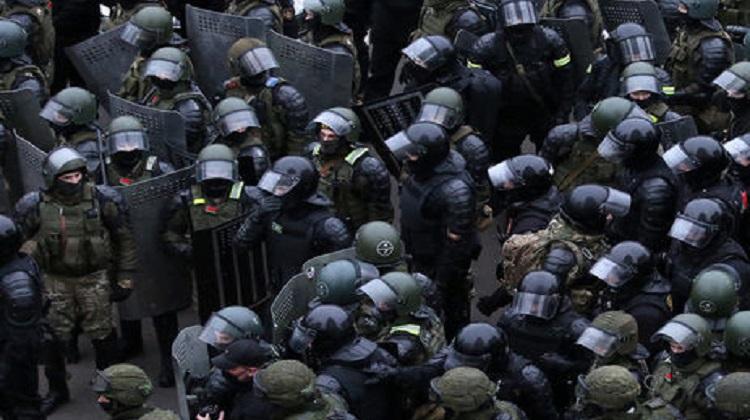 В Беларуси на воскресных акциях протеста задержали более 1100 протестующих