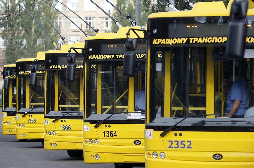 Украинские города  закупят 227 автобусов и 153 троллейбуса