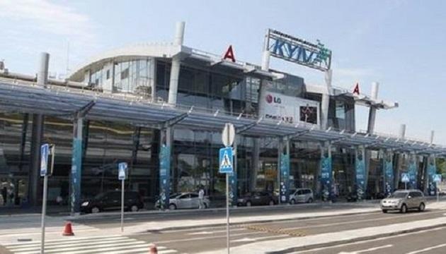 Пассажиропоток аэропорта Киев за 5 месяцев превысил 200 тыс. человек