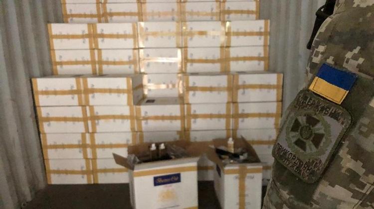 Пограничники изъяли свыше 3 тысяч ящиков сигарет