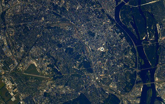 Астронавт NASA сфотографировал Киев из космоса (фото)