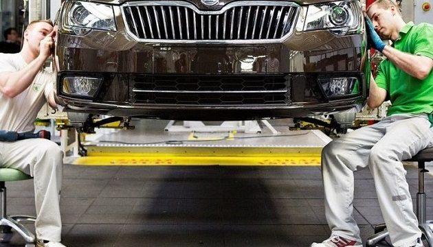 В Украине автопроизводство выросло в 2,5 раза
