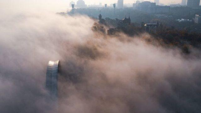 В Киеве снова зафиксирован высокий уровень загрязнения воздуха