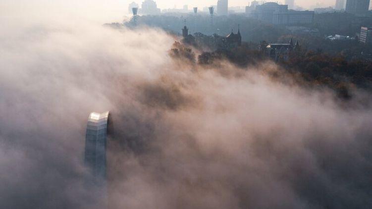Киев попал в ТОП-3 мирового рейтинга городов с самым грязным воздухом