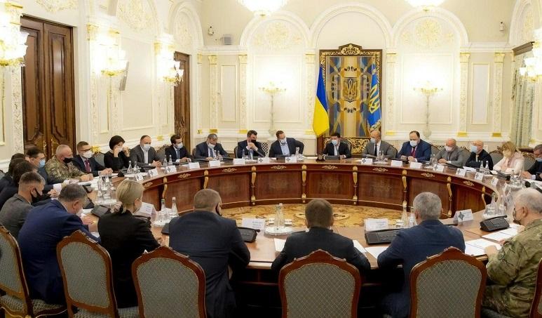 Зеленский расширил состав военного кабинета СНБО