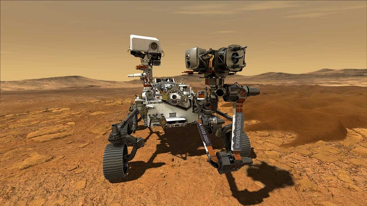 Марсоход НАСА начал миссию по поиску следов жизни на Марсе