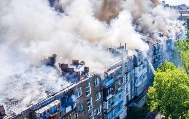Правоохранители задержали причастного к пожару в Новой Каховке