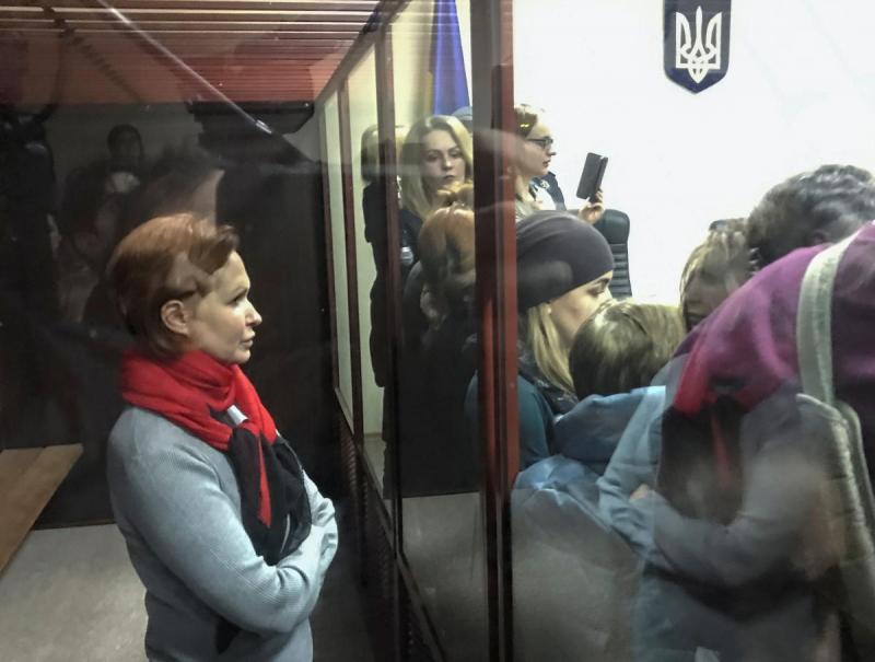 Волонтер Кузьменко проиграла апелляцию на арест в деле об убийстве Шеремета
