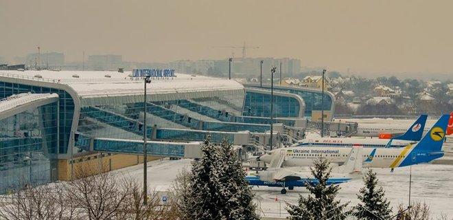 Пассажиропоток аэропорта «Львов» вырос до 2,2 млн человек