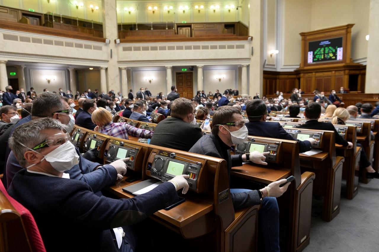 Рада во втором чтении и в целом приняла банковский закон