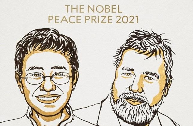 Нобелевскую премию мира получили журналисты из России и Филиппин