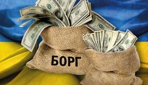 Госдолг Украины за месяц вырос на 6 млрд гривен