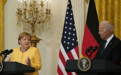 Байден и Меркель подписали Вашингтонскую декларацию