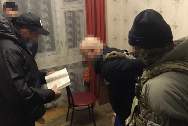 ГБР задержало подполковника налоговой милиции по подозрению в сотрудничестве с сепаратистами