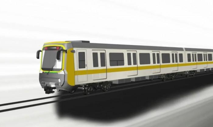 Китайская CRRC продемонстрировала вагоны для метро Харькова (ФОТО)