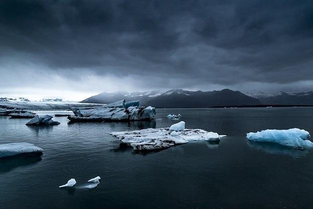 Уровень арктического льда понизился на 13%