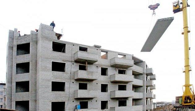 С начала года объемы строительства в Украине выросли на 21,2%