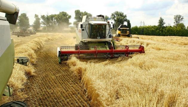 В Украине зерновые уже собрали с 66% прогнозируемых площадей