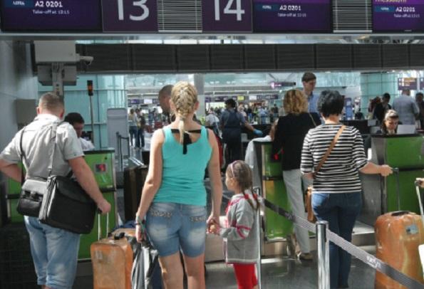 Аэропорты Украины нарастили пассажиропоток на 24%