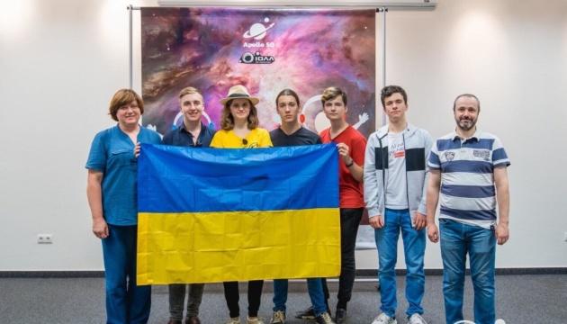 Украинские школьники на научных олимпиадах завоевали девять медалей