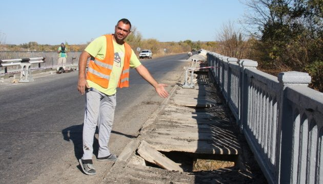 Укравтодор отремонтирует на Луганщине 14 мостов
